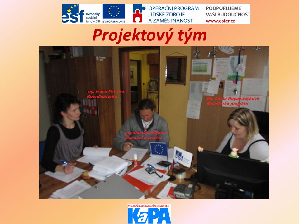 Projektový tým