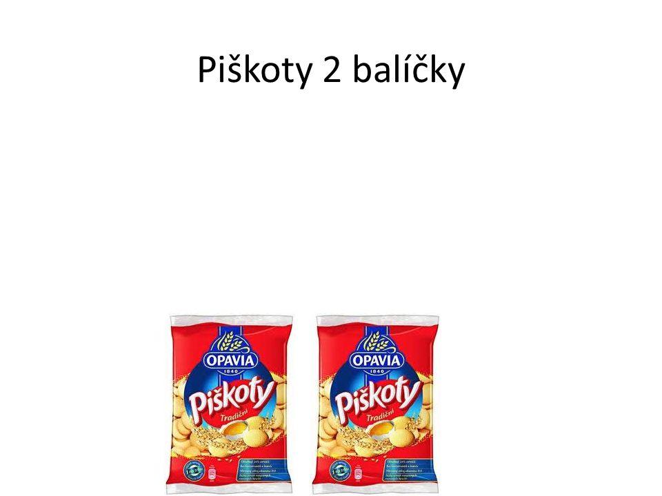 Piškoty 2 balíčky