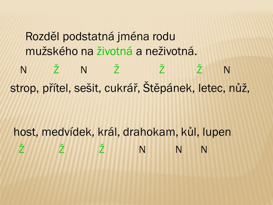 Vzor pán je tvrdý vzor.Ve 4. a 7. pádě množného čísla píšeme -y.