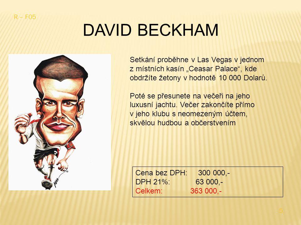 DAVID BECKHAM R – F05 5.