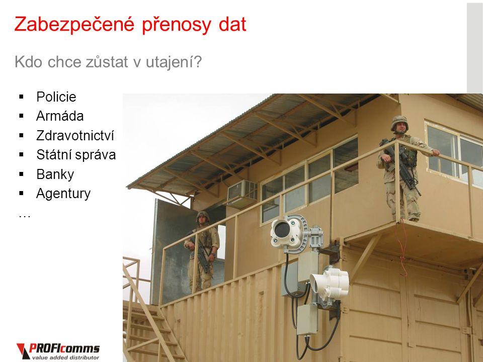 14 Zabezpečené přenosy dat 14 Kdo chce zůstat v utajení?  Policie  Armáda  Zdravotnictví  Státní správa  Banky  Agentury …