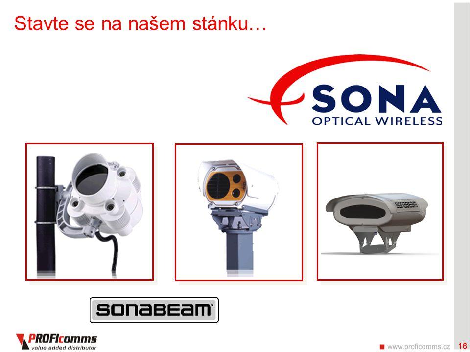 16 Stavte se na našem stánku… 16 SONAbeam™ E SeriesSONAbeam™ M SeriesSONAbeam™ Z Series