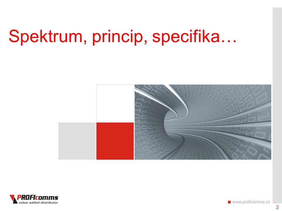 2 Spektrum, princip, specifika…