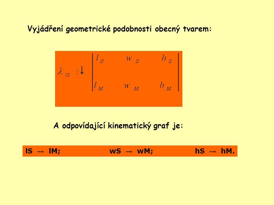 13 •Kinematická (rychlostní) podobnost je dosažena, když existuje konstantní poměr mezi naměřenými rychlostmi obtékajícího proudu vzduchu u modelu a u