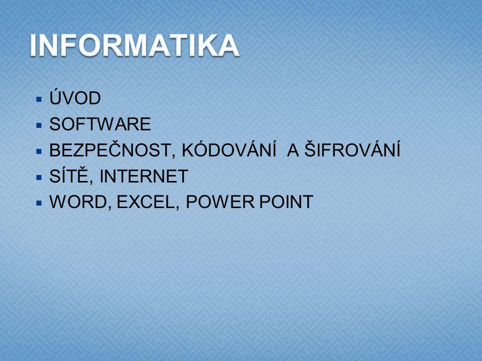  programové vybavení, které je určeno pro interakci s uživatelem  grafické nebo textové rozhraní  rozdělení podle účelu  antiviry  internetové prohlížeče  databázové systémy  …