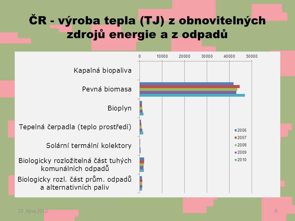 Potenciál geotermální energie v ČR 12.