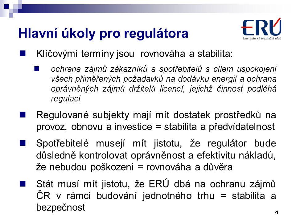 4  Klíčovými termíny jsou rovnováha a stabilita:  ochrana zájmů zákazníků a spotřebitelů s cílem uspokojení všech přiměřených požadavků na dodávku e