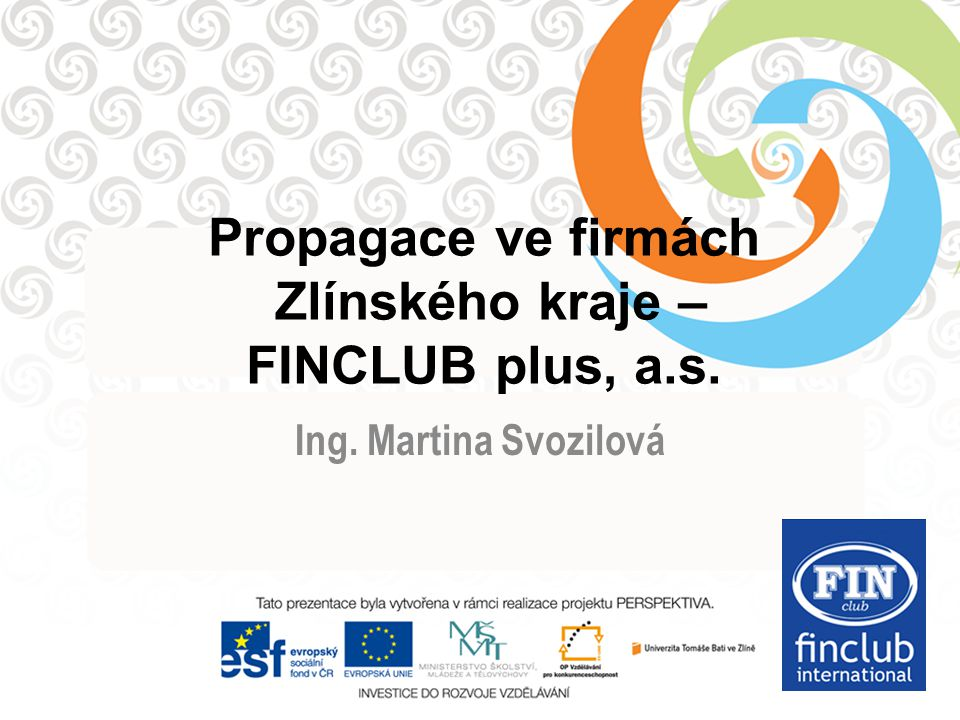 Klady a zápory přímého prodeje FINCLUB plus a.s. Ing. Martina Svozilová nezávislý poradce