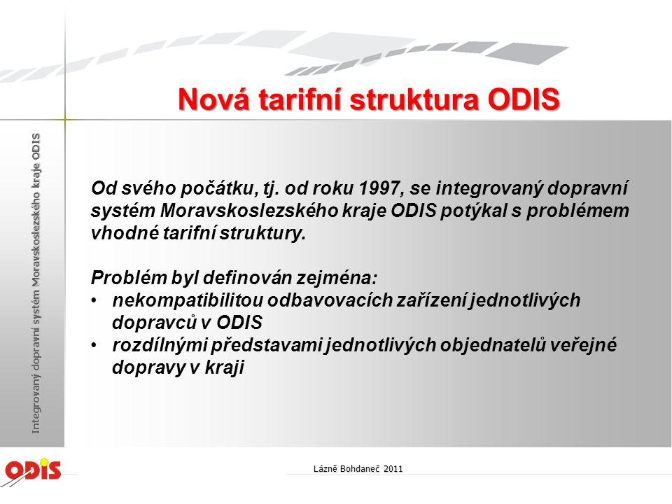 Od svého počátku, tj. od roku 1997, se integrovaný dopravní systém Moravskoslezského kraje ODIS potýkal s problémem vhodné tarifní struktury. Problém