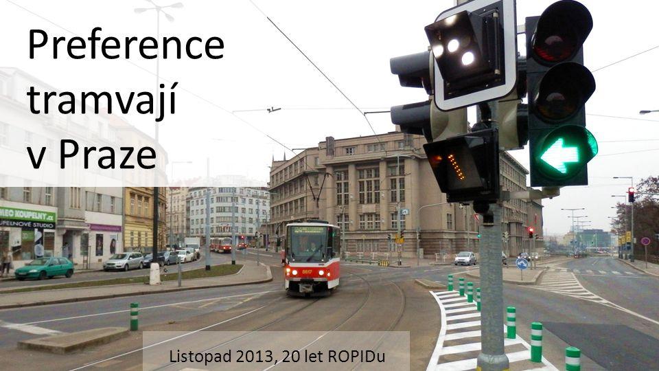 Preference tramvají v Praze Listopad 2013, 20 let ROPIDu