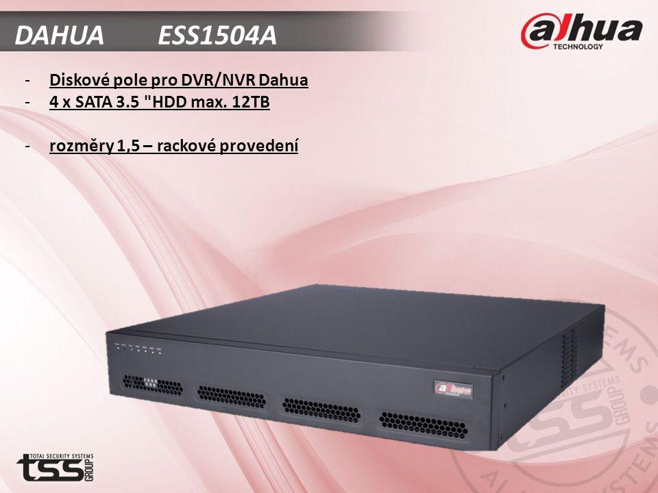 DAHUA ESS1504A -Diskové pole pro DVR/NVR Dahua -4 x SATA 3.5 HDD max.
