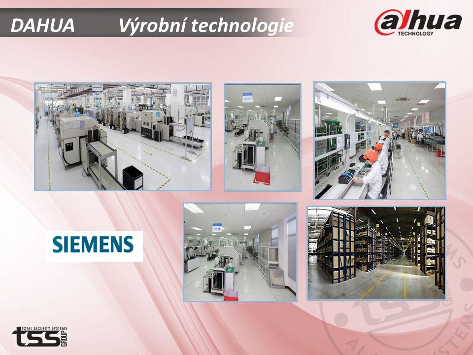 DAHUA Výrobní technologie