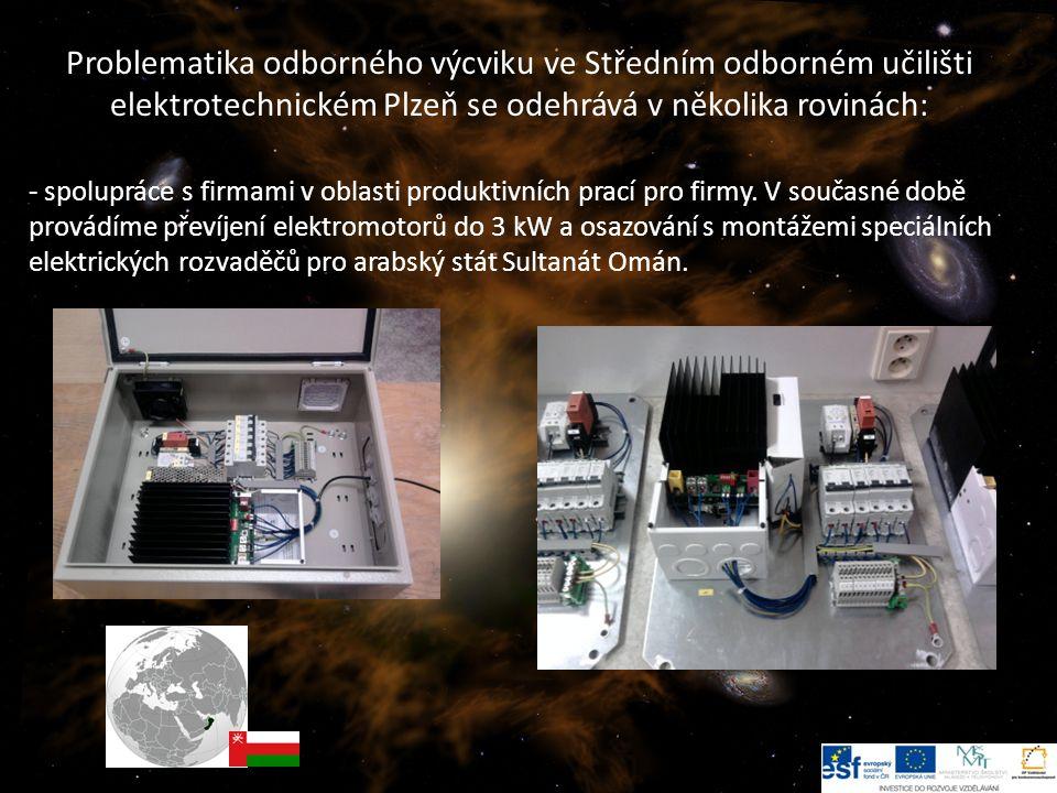 7 -- spolupráce s firmami v oblasti produktivních prací pro firmy.