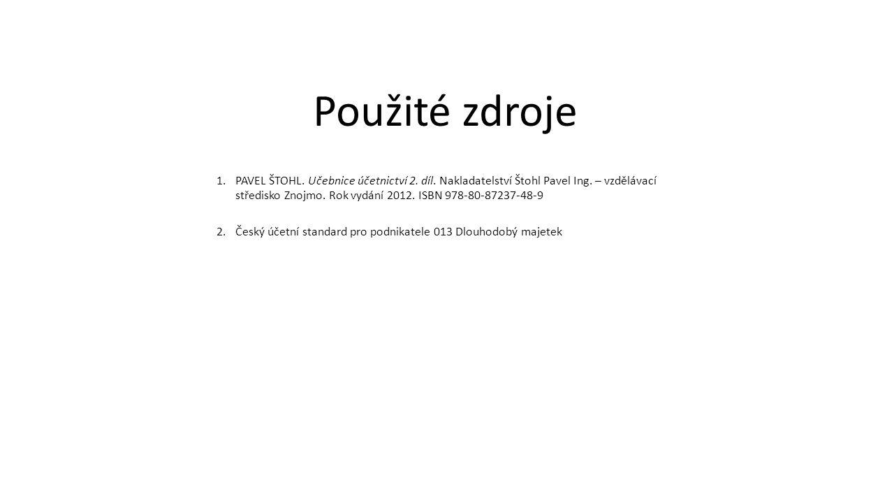 1.PAVEL ŠTOHL.Učebnice účetnictví 2. díl. Nakladatelství Štohl Pavel Ing.