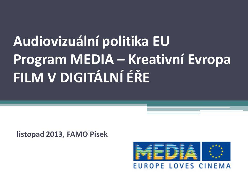 EVROPA – audiovizuální průmysl EU - 27 zemí 502,5 mil.