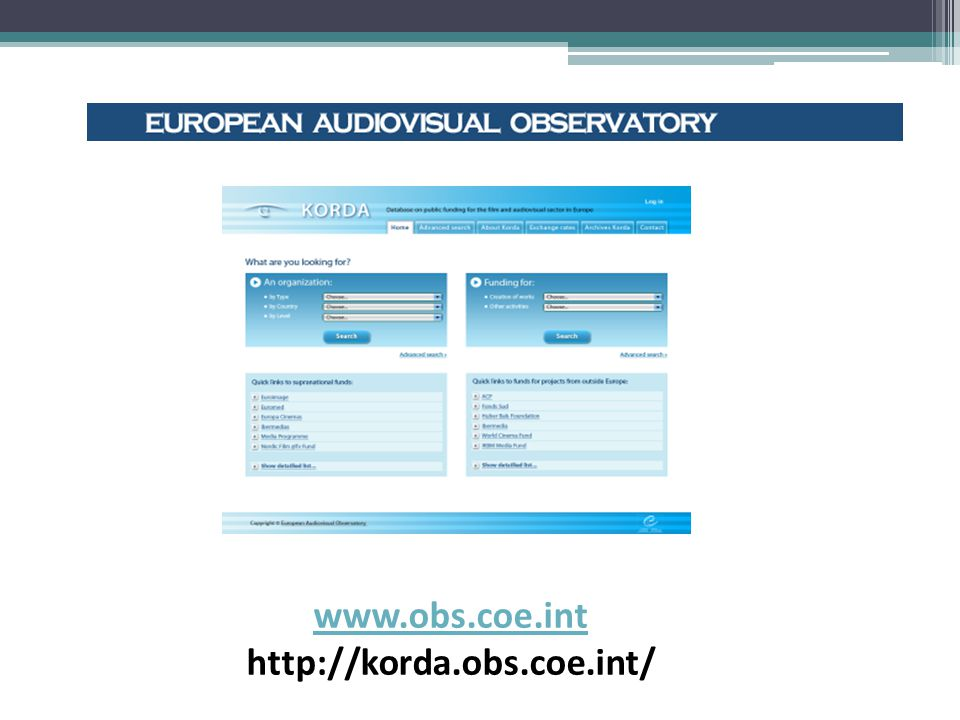 DALŠÍ INFORMACE http://ec.europa.eu/culture/media/index_en.