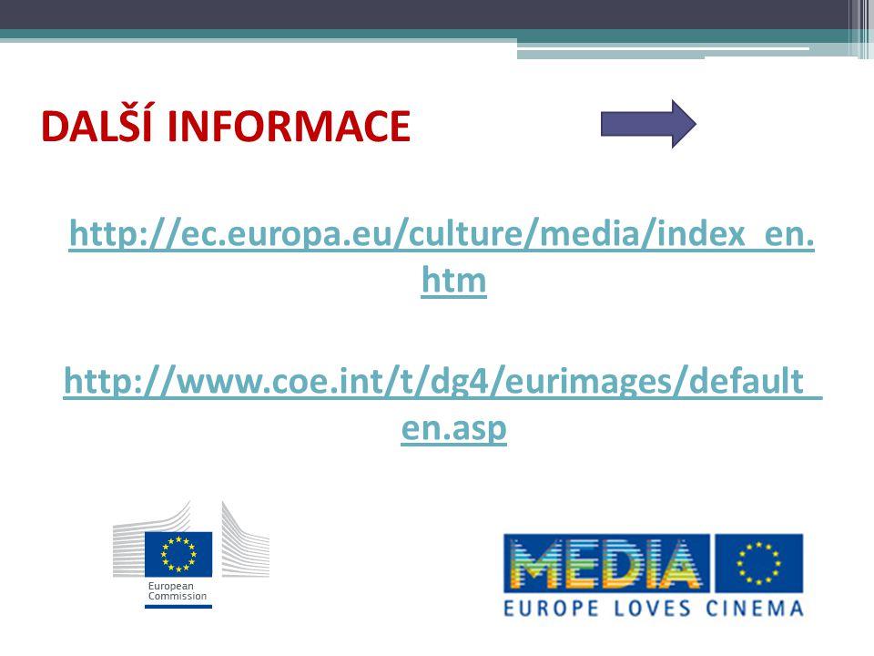 MEDIA Training 60/70 vzdělávacích programů – 1500 účastníků vzdělávání profesionálů - vývoj projektů - management – právo,finance, marketing - práce s publikem - nové technologie -dokumenty, animace Initial Training – pro studenty Nyní: Erasmus +