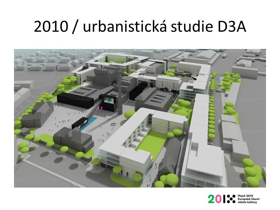 2010 / urbanistická studie D3A