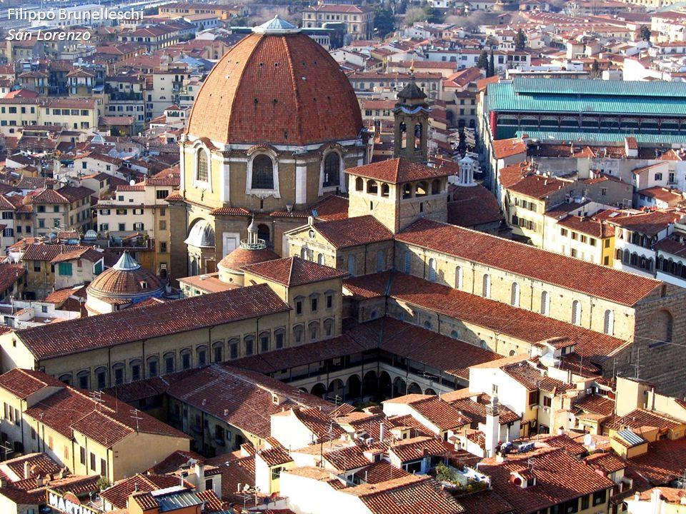Filippo Brunelleschi San Lorenzo