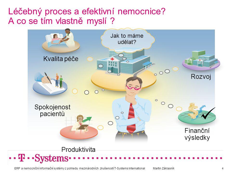 Léčebný proces a efektivní nemocnice? A co se tím vlastně myslí ? Jak to máme udělat? Kvalita péče Rozvoj Finanční výsledky Produktivita Spokojenost p