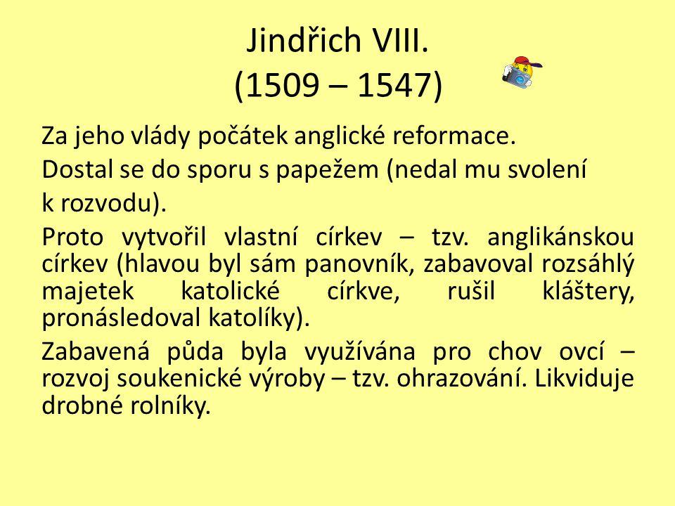 1660 republika zrušena Vilém III.přijal Listinu práv – Anglie – konstituční monarchie.