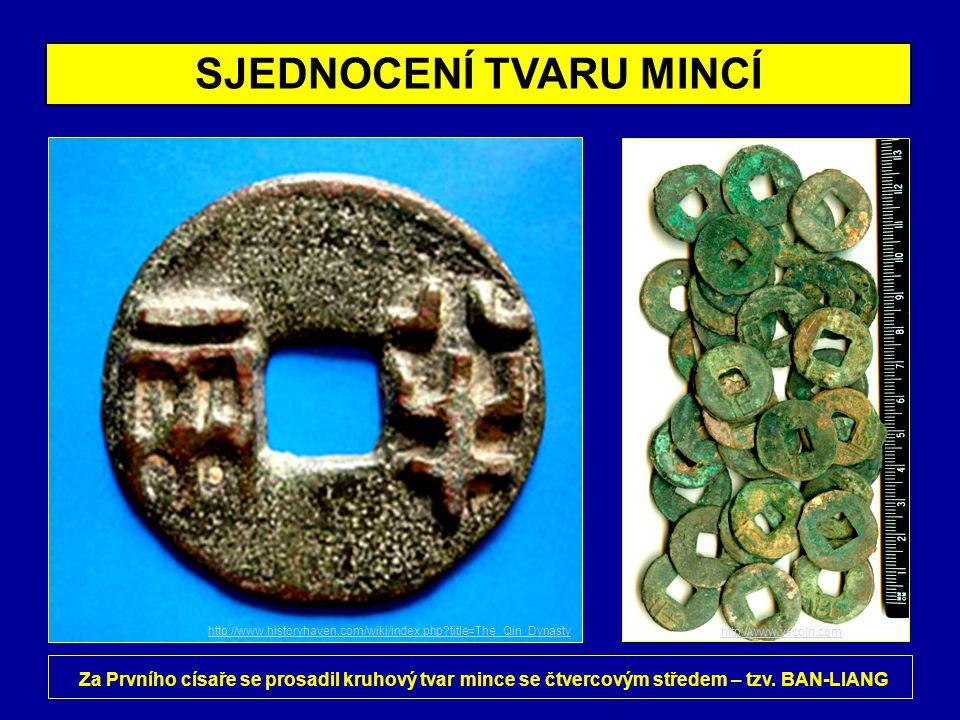 VLÁDA DYNASTIÍ CHAN A TCHANG • zahrnuje 2.století př.n.l.
