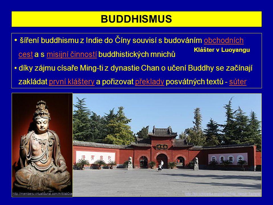 ZENBUDHISMUS • slovo zen je přeloženo z čínského čchan a znamená meditaci, na níž je toto učení založeno • vzniklo v 5.