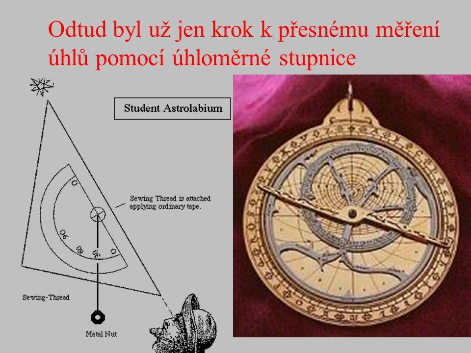 Od 16 do 18 století byl Astrolab nejpoužívanější navigační pomůckou (Astro - lab = chytač - hvězd) Autorství se připisuje Hipparchovi (150 let před Kr