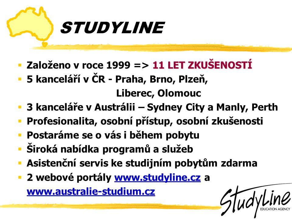 www.studyline.cz www.australie-studium.cz