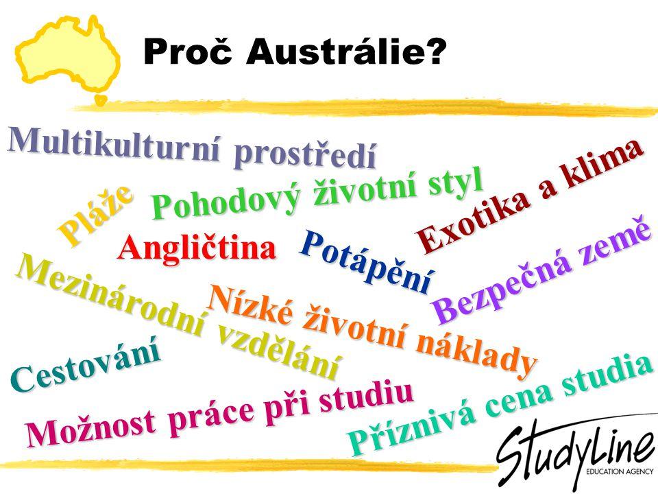 Hlavní fakta o studiu v Austrálii  Studium min.