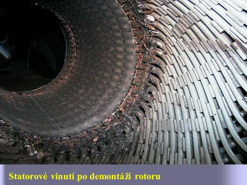 Celkový pohled na čelo rotoru