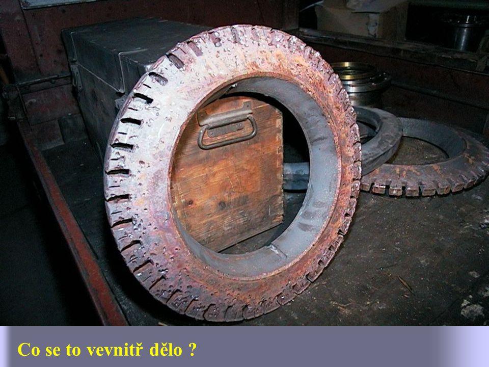 Další díly rotoru