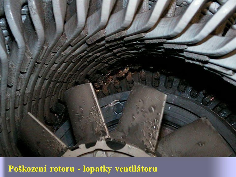 Kruhy rotorové klece se utrhly samy.