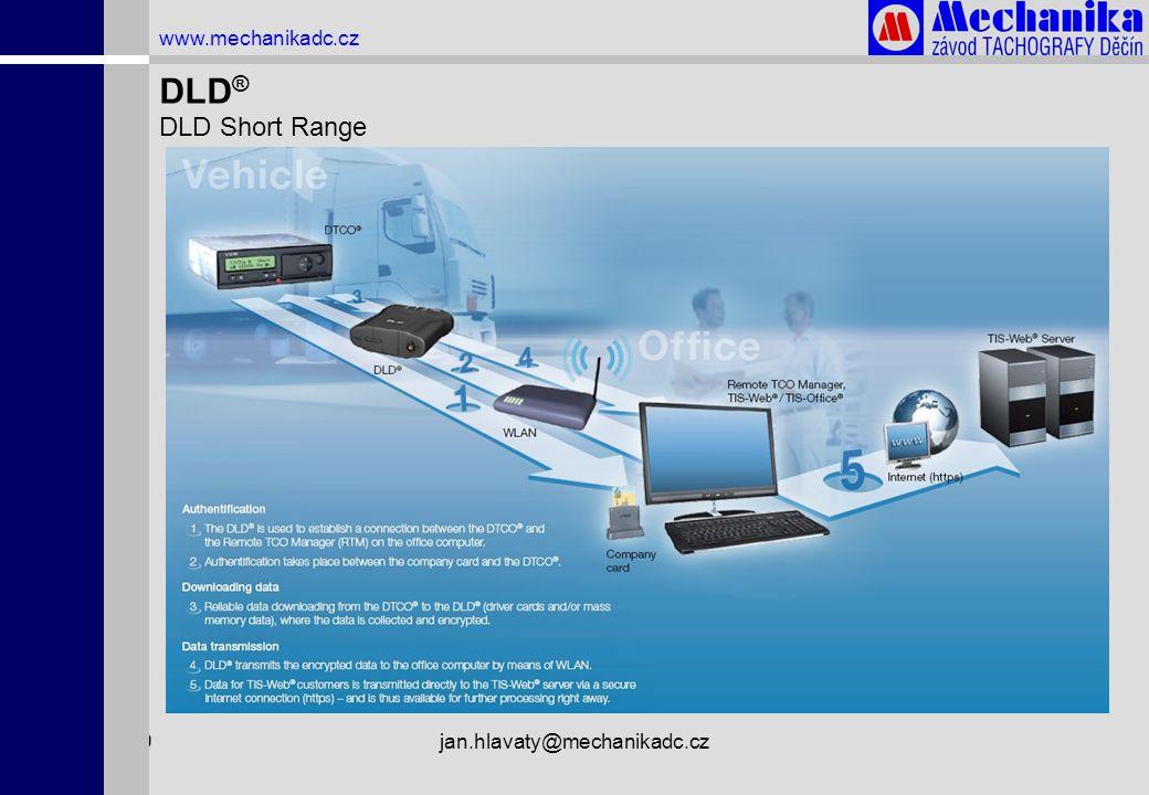 1.4.2009jan.hlavaty@mechanikadc.cz www.mechanikadc.cz DLD ® DLD Short Range
