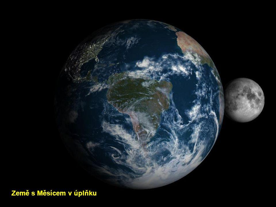 Země s Měsícem v novu