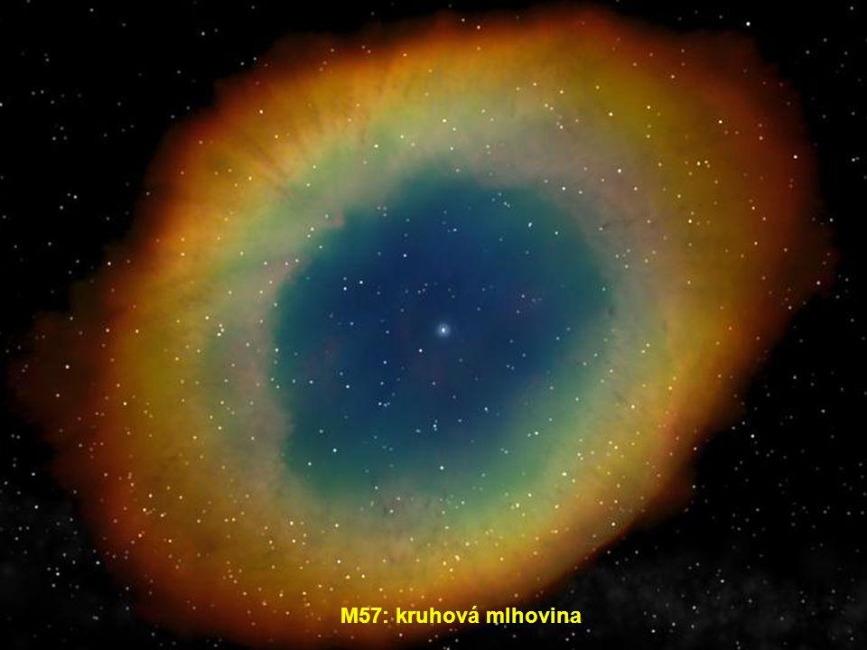 """M16: """"Eagle Nebula"""" = Orlí mlhovina"""
