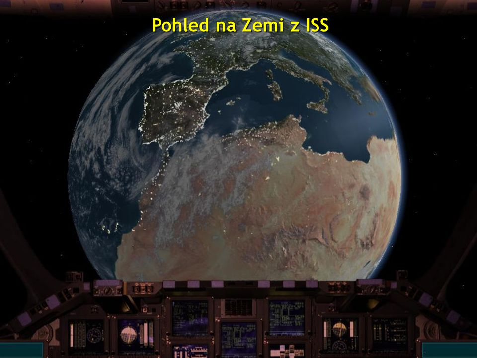 ISS = mezinárodní kosmická stanice
