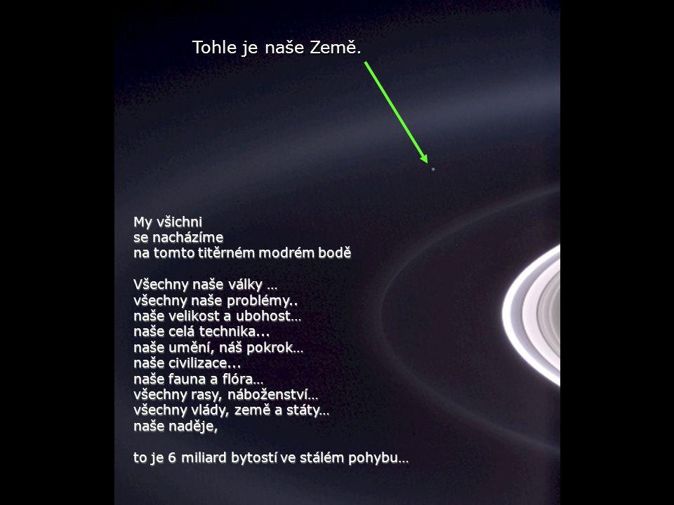 Héla aquí, pues: Nechte na sebe trochu zapůsobit tento obraz…...zaznamenaný sondou Cassini-Huygens v roce 2004, když dosáhla prstence Saturnu…