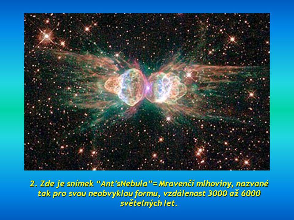 1. Pohled na galaxii Sombrero, v katalogu Messier označenou jako M104. Vzdálená 28 milionů světelných roků. Jeden z nejlepších snímků teleskopu Hubble