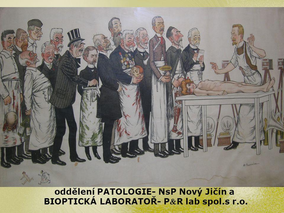 oddělení PATOLOGIE- NsP Nový Jičín a BIOPTICKÁ LABORATOŘ- PR lab spol.s r.o.