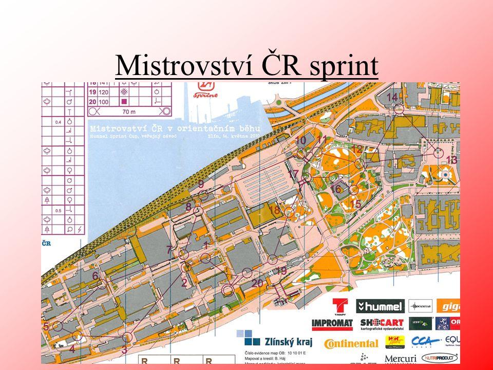 Mistrovství ČR sprint