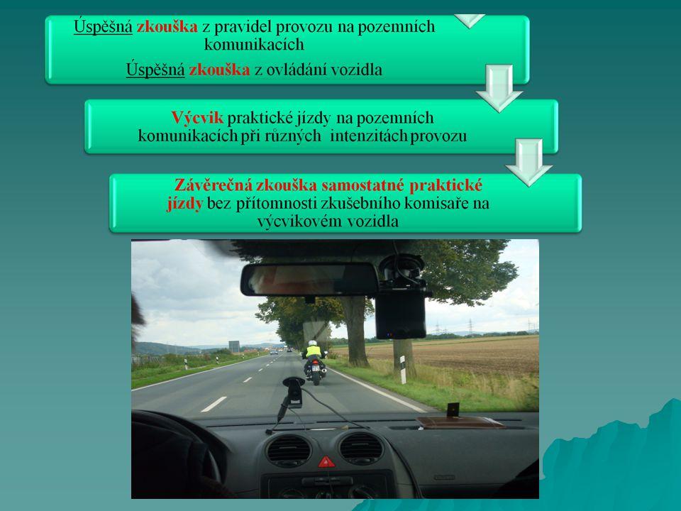 Cíle připravovaného záměru  přizpůsobení výuky a výcviku individuálním potřebám, schopnostem a požadavkům žadatele nad rámec povinné učební osnovy  důkladné a objektivní prověření všech znalostí, dovedností a chování  vysoká úroveň připravenosti začínajícího motocyklisty pro bezpečný pohyb na pozemních komunikacích  snížení nehodovosti začínajících řidičů  snížení úmrtnosti a následků dopravních nehod motocyklistů !.