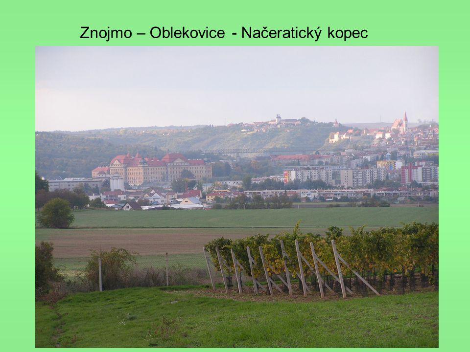 Znojmo – Oblekovice - Načeratický kopec