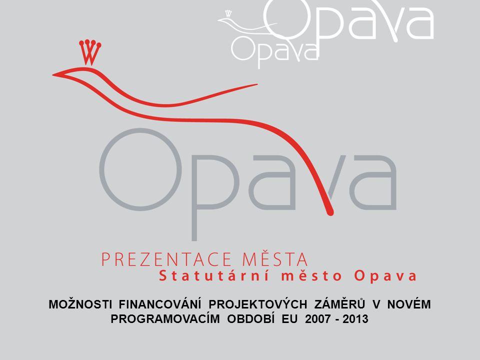 Programové období EU 2007-2013 ZÁKLADNÍ ÚDAJE:  Celková finanční podpora pro Českou republiku z EU v letech 2007-2013: 747,4 mld.