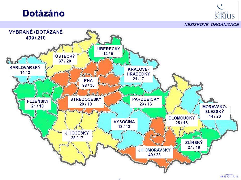 NEZISKOVÉ ORGANIZACE - 46 - Pardubický kraj I.Chrudim Svitavy Pardubice Ústí n.