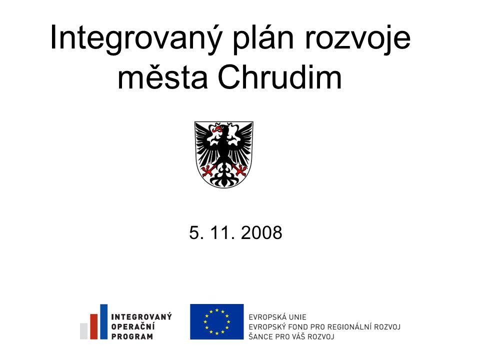 Integrovaný plán rozvoje města Chrudim 5. 11. 2008