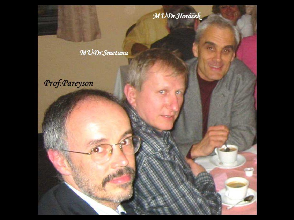 Prof.Pareyson MUDr.Smetana MUDr.Horáček