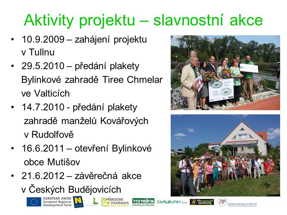 Plánovací a realizační aktivity – veřejná zeleň •Plánovací aktivity Zámecký park Maříž •Plánování a realizace Bylinkové obce Mutišov •Plánovací aktivity Veřejný park v Č.
