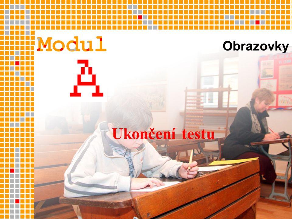 Ukončení testu