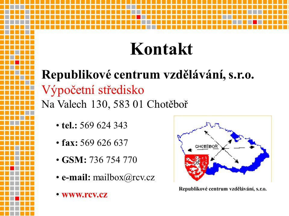 Republikové centrum vzdělávání, s.r.o.